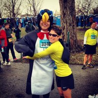 Free hugs?! From a guy in a penguin suit?! That's not weird at all... right?