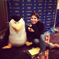 Polar Dash Expo. Lots of penguins but not real ones.